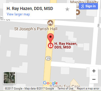 dentist rochester map